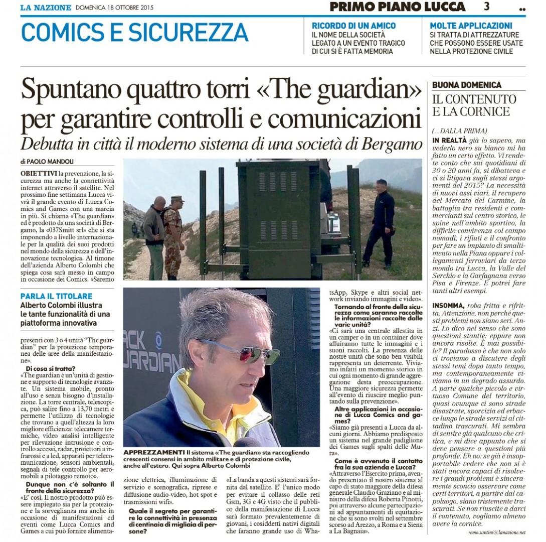 La Nazione Lucca Comics 2015