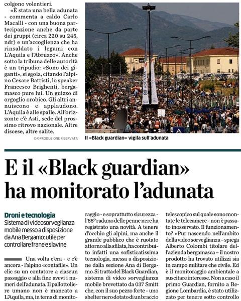 Press Eco di Bergamo - 2015 - Articolo Adunata_1