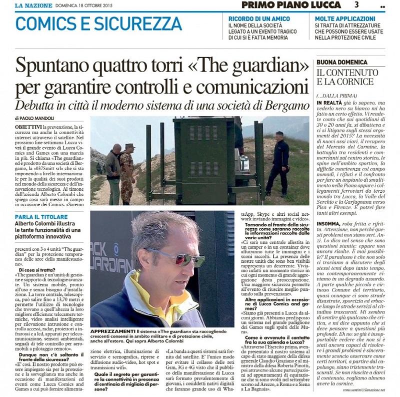 La Nazione - Lucca Comics